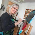 Anne Gandolfon taidenäyttelyn avajaiset